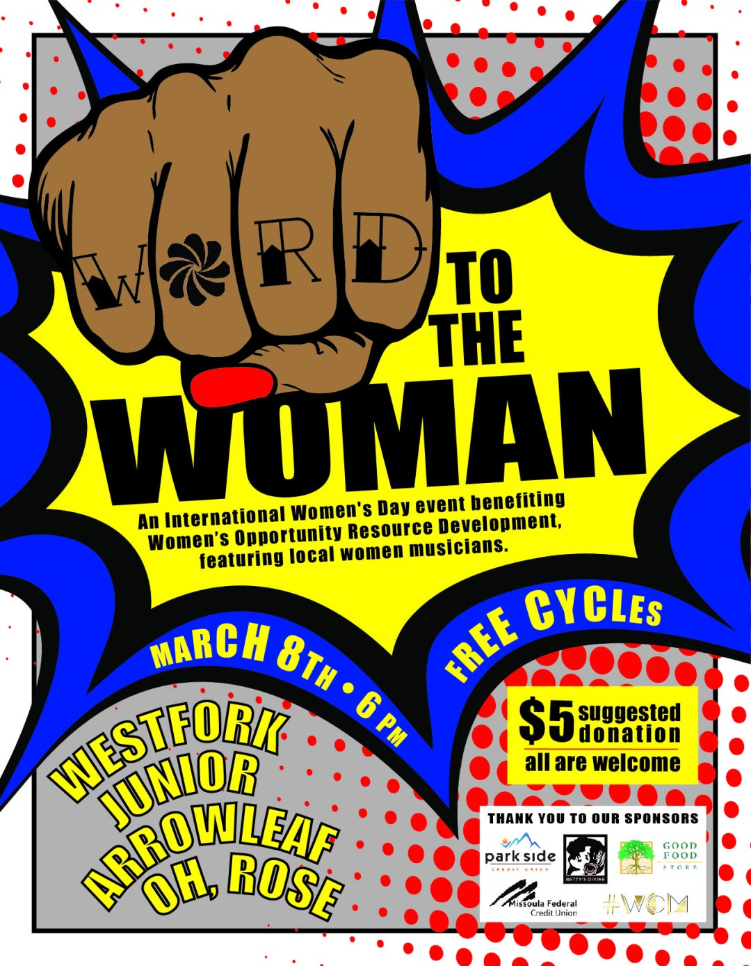 2019 WORD to the Woman Poster